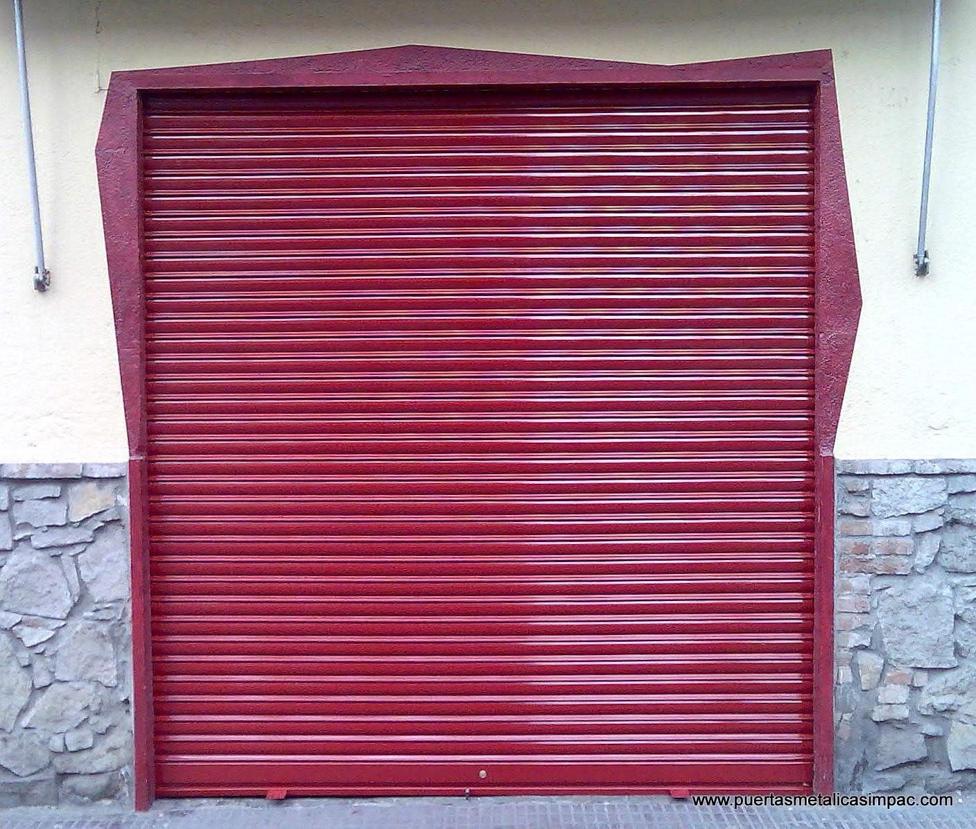 Puertas enrollables impac impac puertas met licas for Puertas metalicas