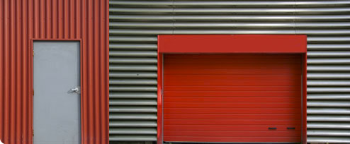 Puertas de hierro, puertas de comunidad, puertas motorizadas